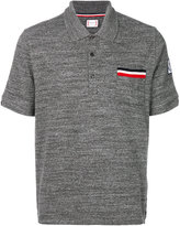 Moncler Gamme Bleu chest pocket polo shirt