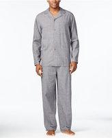 Club Room Men's Big & Tall Tonal Plaid Pajama Set, Only at Macy's