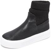 DKNY Beverly Platform Sneaker Booties