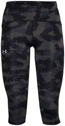 Under Armour Womens Fly Fast Printed Capri Tights