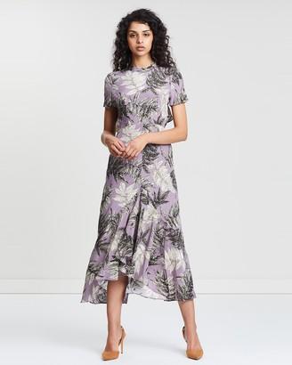 Whistles Arabella Floral Print Silk Dress