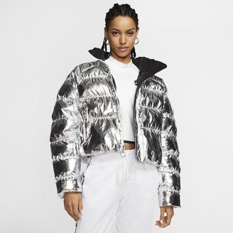 Nike Foil Puffer Jacket x Olivia Kim