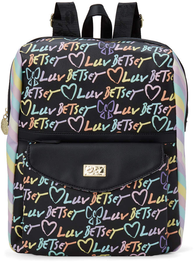 Luv Betsey By Two-Piece Rainbow Lexie Backpack