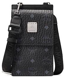 MCM Visetos Original Pouch Bag