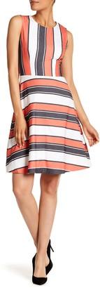 HUGO BOSS Himelly Stripe Dress