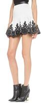 Robert Rodriguez Lace Applique Skirt
