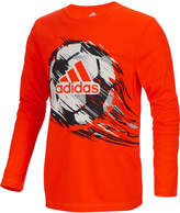 adidas ClimaLite Graphic-Print Shirt, Toddler & Little Boys (2T-7)
