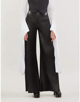 16Arlington 16 ARLINGTON Marvin high-rise leather trousers