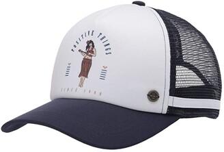 Roxy Dig This Trucker Hat (Mood Indigo) Caps