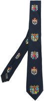 Dolce & Gabbana Heraldic Sicilia tie - men - Silk - One Size