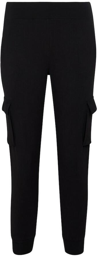 Alo Yoga Cotton-blend jersey cargo sweatpants