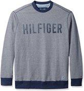 Tommy Hilfiger Men's Tall Hampton Crew Neck Sweater