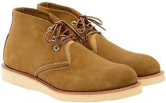 Red Wing Shoes 3141 Work Chukka Boot, Olive Mohave