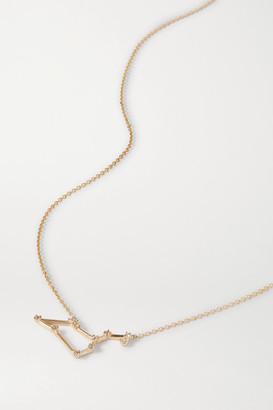 Sebastian Celestial Leo 10-karat Gold Diamond Necklace - one size