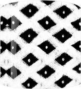 Asstd National Brand Black Diamonds Drum Lamp Shade
