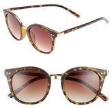BP Women's Metal Rim Round Sunglasses - Tort/ Brown