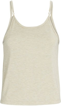 DONNI Pearl-Embellished Knit Camisole