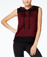 Jessica Simpson The Warm Up Juniors' Colorblocked Hoodie Vest