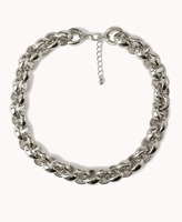 Forever 21 Oversized Chain-Link Necklace