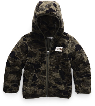 The North Face Boy's Campshire Hooded Fleece Jacket, Size 2-4T