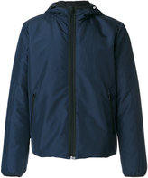 No.21 logo hooded jacket - men - Polyamide/Polyester - 46