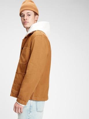 Gap Workforce Collection Twill Utility Jacket