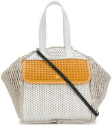 Carmina Campus colour-block tote