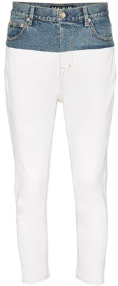 P.E Nation 1988 Two-Tone Skinny Jeans