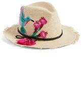Kate Spade Women's Hummingbird Trilby Hat - Beige