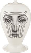 "Fornasetti Capitello Bianco"" Lidded Vase"