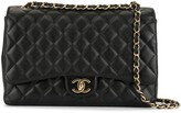 Chanel Pre Owned 1990s jumbo CC chain shoulder bag