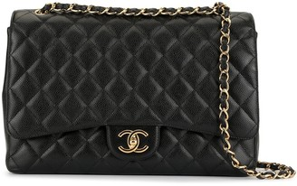 Chanel Pre-Owned 1990s jumbo CC chain shoulder bag