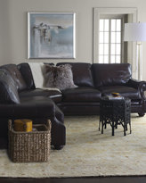 Conrad Two-Piece Leather Sectional