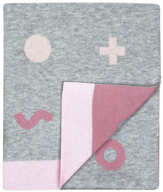 Weegoamigo Weego HOLA! Knit Blanket - Digital Pink