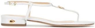 Jennifer Chamandi Pietro 20mm T-bar sandals