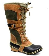 "Sorel Conquest Carly"" Tan Leather Snow Boot"