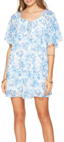 Show Me Your Mumu Blue Floral Dress