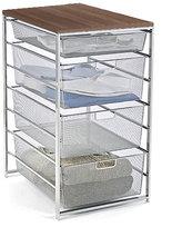 Elfa Platinum Mesh Closet Drawers