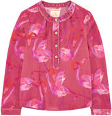 Scotch & Soda Lightweight printed blouse