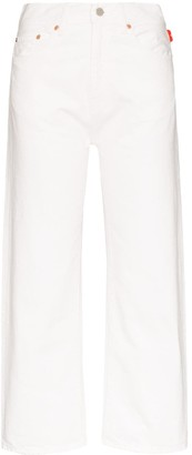 Denimist Pierce cropped straight leg jeans