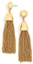 BaubleBar Women's Tassel Drop Earrings
