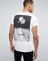 Religion T-Shirt with Back Graphic Print