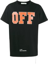 Off-White Men's Omaa002f171850441019 Cotton T-Shirt