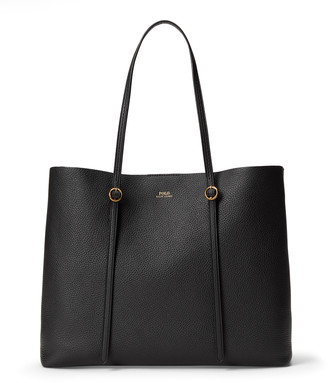 Ralph Lauren Leather Large Lennox Tote