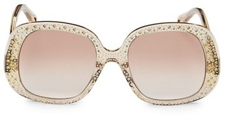 Chloé 54MM Oversized Round Sunglasses