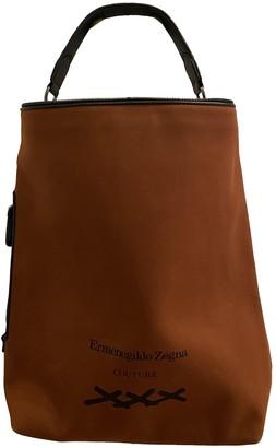 Ermenegildo Zegna Orange Cotton Bags