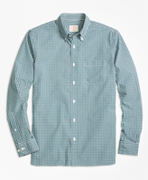 Brooks Brothers Micro-Check Broadcloth Sport Shirt