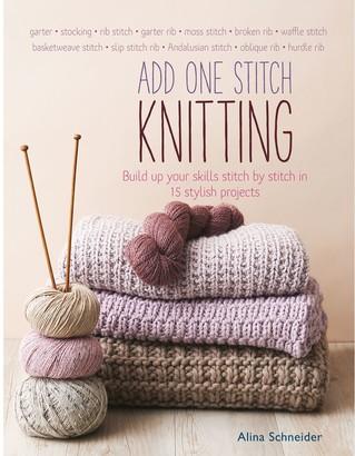 Search Press Alina Shneider Add One Stitch Knitting Project Workbook