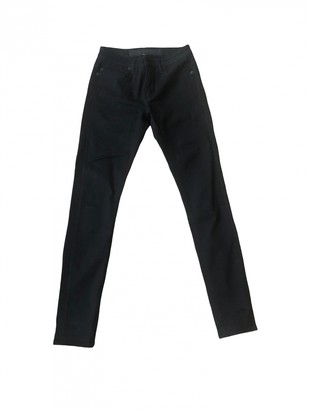 Surface to Air Black Cotton Jeans for Women