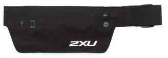 2XU Run Logo-print Running Belt - Black